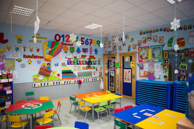 decoracion aula infantil 3 anos