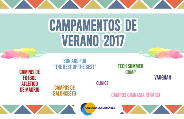 Campamentos de Verano Colegio Estudiantes