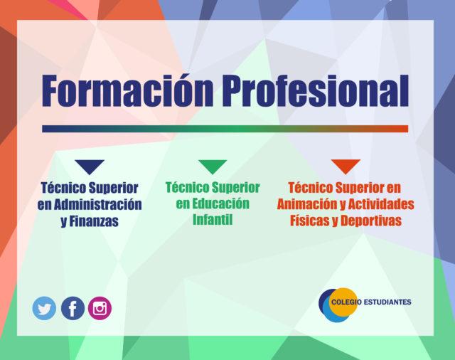 Formación Profesional Colegio Estudiantes