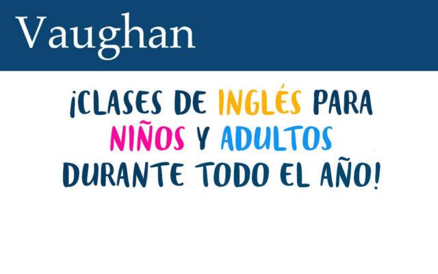 Clases de inglés Vaughan