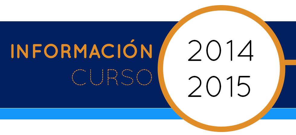 Información Curso 2014-2015