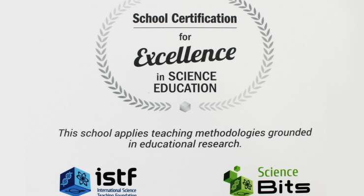 Certificación Science Bits Excellence