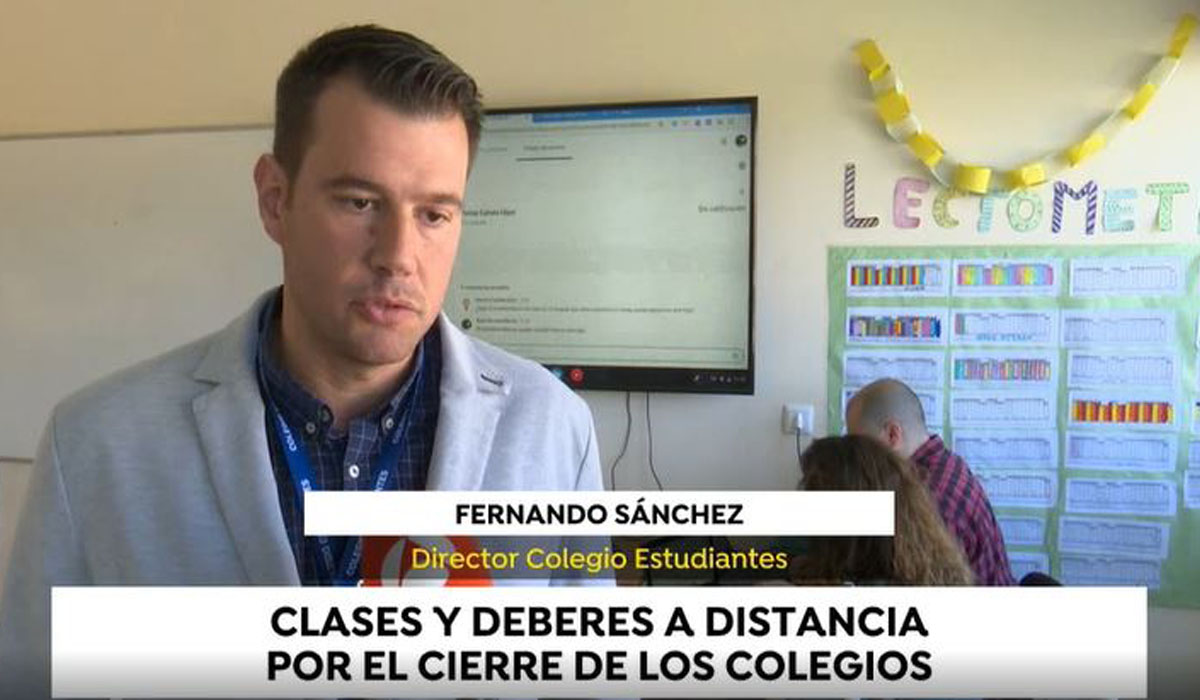 Colegio Estudiantes referente en tecnología educativa