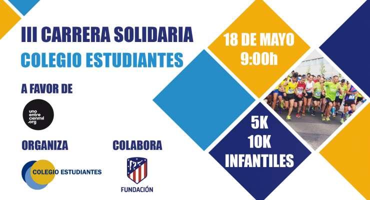 III Carrera Solidaria Colegio Estudiantes