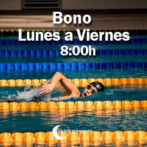 Bono lunes a viernes 8:00h