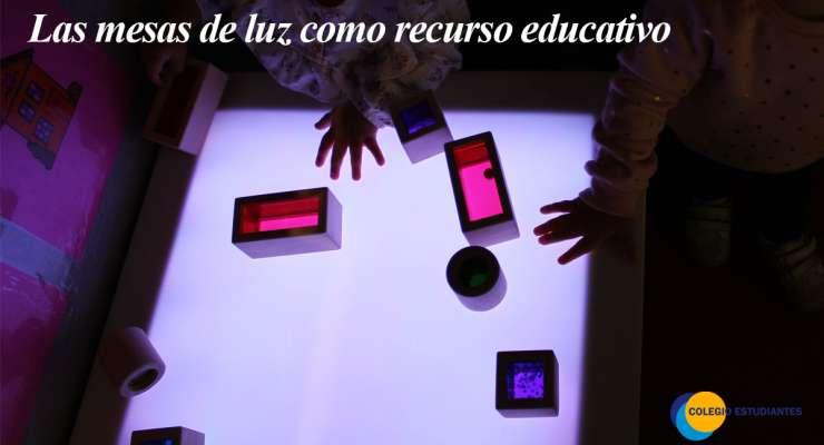 Las mesas de luz como recurso educativo