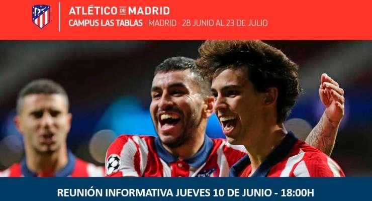 Reunión Campus Atlético de Madrid